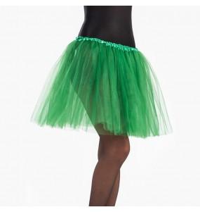 Disfarce original Saia Tutu Verde Escuro mulher ao melhor preço