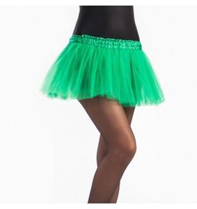 Disfarce Saia Tutu Verde Escuro menina para que eles sejam com quem sempre sonharam