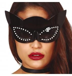 Os óculos mais engraçados Catwoman para festas de fantasia