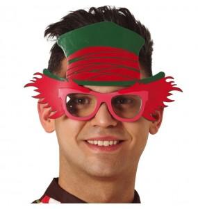 Os óculos mais engraçados personagem Chapeleiro Maluco para festas de fantasia