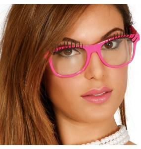 Os óculos mais engraçados com cílios para festas de fantasia