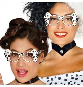 Os óculos mais engraçados dálmata para festas de fantasia