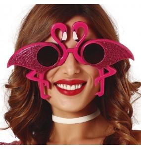 Os óculos mais engraçados Flamingo para festas de fantasia
