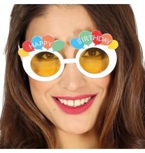 Os óculos mais engraçados Happy Birthday para festas de fantasia