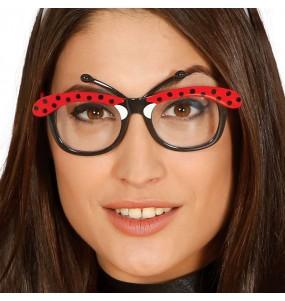 Os óculos mais engraçados Joaninha para festas de fantasia