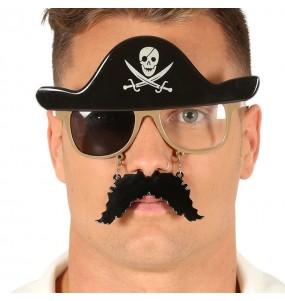 Os óculos mais engraçados Pirata para festas de fantasia