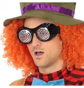Os óculos mais engraçados Chapeleiro Maluco para festas de fantasia