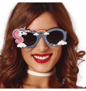 Os óculos mais engraçados Unicórnio para festas de fantasia