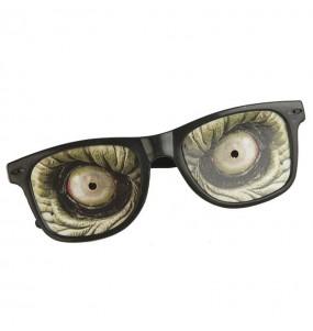 Os óculos mais engraçados Halloween zumbi para festas de fantasia