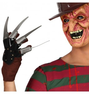 Luva Freddy Krueger para festas de fantasia