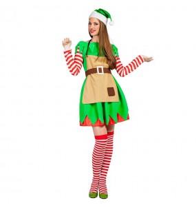 Disfarce original Elfa Natalícia mulher ao melhor preço