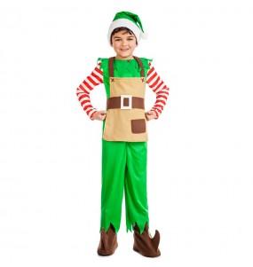 Disfarce Elfo Natalício menino para deixar voar a sua imaginação