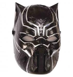 Máscara Black Panther Avengers crianças para completar o seu fato Halloween e Carnaval