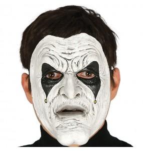 Máscara Assassino Jester para completar o seu fato Halloween e Carnaval