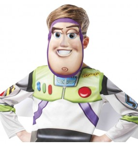 Máscara Buzz Lightyear Toy Story crianças para completar o seu fato Halloween e Carnaval