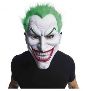 Máscara Joker em PVC com cabelo