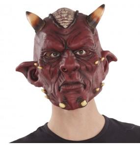 Máscara satanás para completar o seu fato Halloween e Carnaval