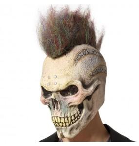 Máscara de esqueleto punk