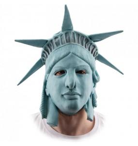 Máscara Estátua da Liberdade The Purge para completar o seu fato Halloween e Carnaval