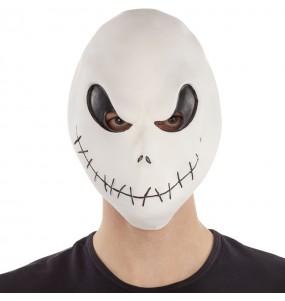 Máscara de Jack Skellington para completar o seu fato Halloween e Carnaval