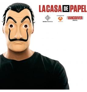 Máscara La Casa de Papel Salvador Dalí para deixar voar a sua imaginação