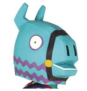 Máscara Lama Fortnite para completar o seu fato Halloween e Carnaval