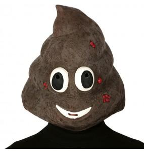 Máscara pilha de bosta