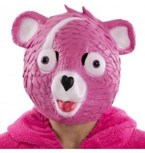 Máscara Cuddle Team Leader de Fortnite para completar o seu fato Halloween e Carnaval