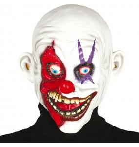 Máscara palhaço assassino sorridente