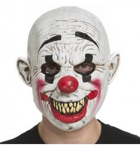 Máscara palhaço diabólico The Purge para completar o seu fato Halloween e Carnaval