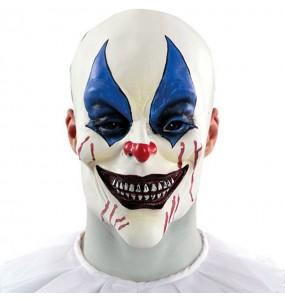 Máscara palhaço de terror para completar o seu fato Halloween e Carnaval