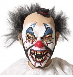 Máscara de palhaço aterradora