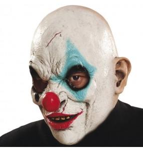 Máscara palhaço zumbi para completar o seu fato Halloween e Carnaval