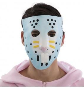 Máscara Rabbit Raider de Fortnite para completar o seu fato Halloween e Carnaval