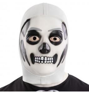 Máscara Skull Trooper de Fortnite para completar o seu fato Halloween e Carnaval