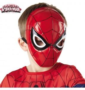 Máscara Spiderman crianças para completar o seu fato Halloween e Carnaval