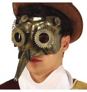 Máscara Steampunk Peste para completar o seu fato Halloween e Carnaval