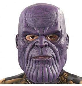 Máscara Thanos Infinity War crianças para completar o seu fato Halloween e Carnaval