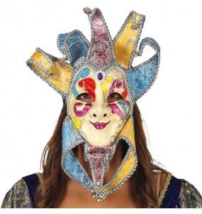 Máscara Veneziana com Jingle Bells para completar o seu fato Halloween e Carnaval