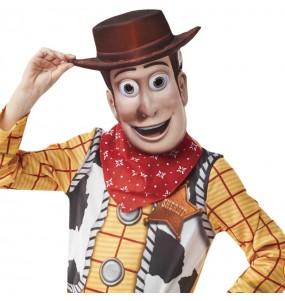 Máscara Woody Toy Story crianças para completar o seu fato Halloween e Carnaval