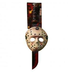 Máscara e machete Jason Sexta-feira 13