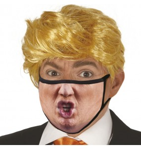 Máscara Donald Trump de proteção para adulto