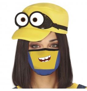 Máscara Minions de proteção para adulto