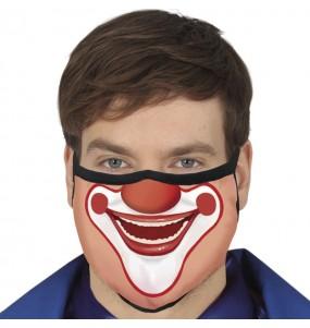 Máscara Palhaço de proteção para adulto