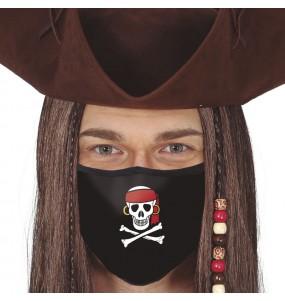 Máscara Pirata de proteção para adulto