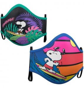 Máscara Snoopy de proteção para adulto