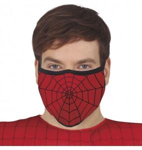 Máscara Spiderman de proteção para adulto