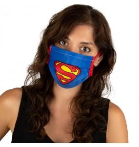 Máscara Superman de proteção para adulto