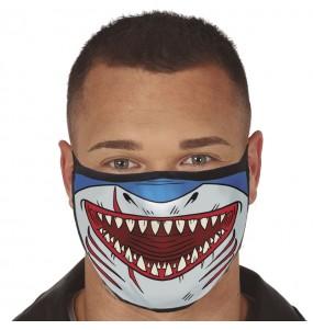 Máscara Tubarão de proteção para adulto