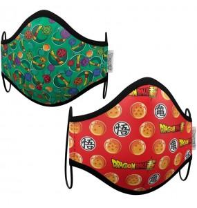 Máscara Dragon Ball Z de proteção para crianças